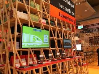 Stand de la BnL à la Frankfurter Buchmesse